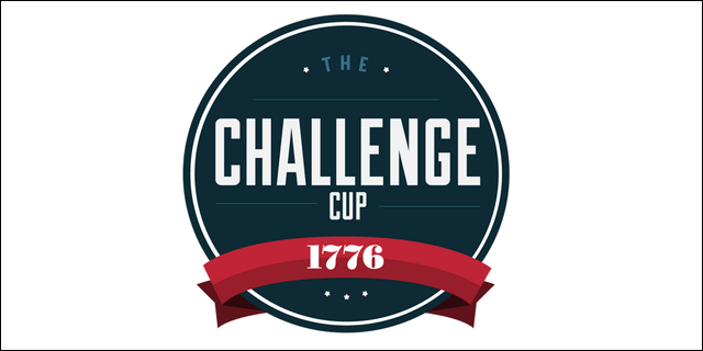 The 1776 Challenge Cup Logo