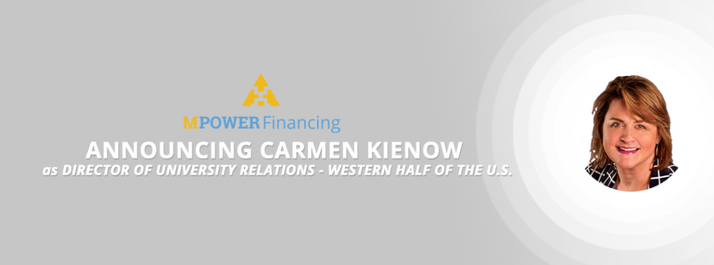 MPOWER Financing Announces Carmen Kienow as Director of University Relations for the Western Half of the U.S.