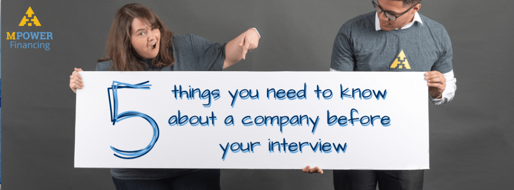things you need to know before your interview